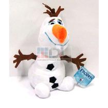 Frozen Olaf Muñeco De Nieve Peluche Disney 25cm Idem Pelic !