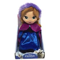 Frozen Anna Peluche Original Disney 30 Cm Wabro
