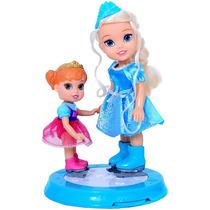 Frozen Pista De Hielo Con Anna Y Elsa Original Wabro