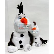 Frozen Olaf Peluche Disney Store Enorme 45cm Música Original