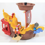 Hook´s Jolly Roger Barco Pirata Fisher Price Jake Never Land