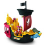 Barco Pirata Hook´s Jolly Roger Fisher Price Jake Never Land