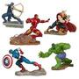 Superheroes Vengadores Avengers Blister X 5 Adorno Torta Jug