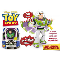 Toy Story Muñeco Buzz Lightyear 55 Frases.original 100