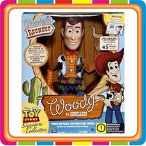 Muñeco Toy Story Woody Interactivo - Original - Mundo Manias