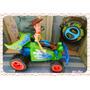 R/c Auto A Control Remoto Toy Story Con Muñeco Woody Disney