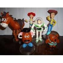Toystory Buzz Woody Jessie Tiro Papa Y Espinas Articulados