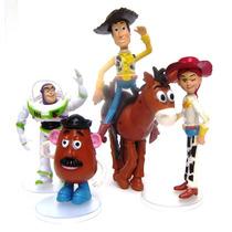 Toystory Buzz Woody Jessie Tiro Papa Articulados