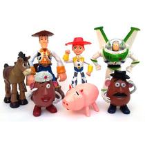 Toystory Buzz Woody Jessie Tiro Papas Y Jam Articula Y Luces
