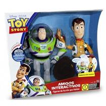 Muñeco Interactivo De Woody Y Buzz Lightyear Original