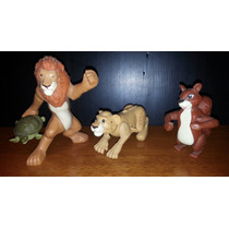 Lote 3 Muñecos The Wild Vida Salvaje Mc Donalds 2006