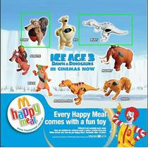 Mcdonalds Ice Age - Completá Tu Colección - 2 Figuras