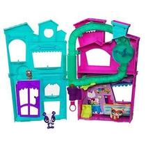 Littlest Petshop Casa Con Lanzador Juguetería El Pehuén