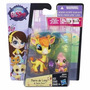 Littlest Pet Shop Set X2 Mascotas+accesorios Original Hasbro