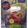 Littlest Pet Shop Sparkle 2352 Y 2353 Caracol Y Pecesito