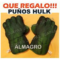 Puño Mano Guante Increible Hulk (derecho/izquierdo) $ C/u