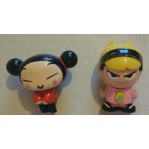Lote Colección - 2 Muñecas Figuras Pucca Y Mandy Mc Donalds