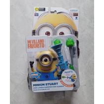Mi Villano Favorito 2 Minion Stuart Lanza Dardos Bunny Toys