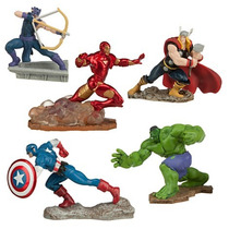 Vengadores Adorno De Torta Y De Coleccion Avengers