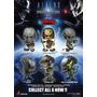Alien Vs Predator Requiem Cosbaby 6 Personajes Diferentes