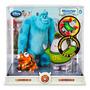 Monsters University Disney - Set De Sulley & Squishy - Nuevo