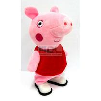 Peppa Pig Camina Música Original Grande Peluche Cerdita Pepa