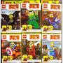 Muñecos Minions Super Heroes Lego Set X 6 Ladrillitos