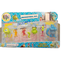 Muñecos X6 Monsters Inc Mike Boo Sulley Celia Need Smitty
