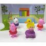 Peppa Pig Y Sus Amigos 6 Figuras Goma 8cm En Caja