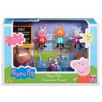 Peppa Pig Set De Clase La Escuela De La Cerdita Pepa Orig !