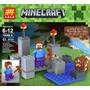 Minecraft Escenario Y Personaje Steve Oferta !!!