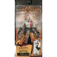 God Of War 2 - Kratos - Flaming Blades Of Athena - Neca