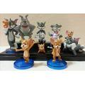 Tom Y Jerry Set X 9 Figuras Imperdibles!!!!