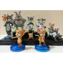 Tom Y Jerry Set X 9 Figuras Imperdibles!!!!