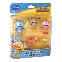 Set De 5 Muñecos Henry Monstruito Disney Original Tv