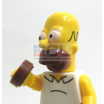 Simpsons T/lego Familia X5 Articulado Fotos Real Bart Homero