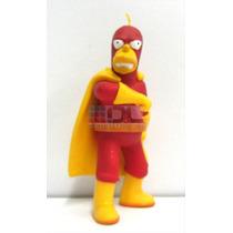 Simpsons Hombre Radioactivo Muñeco Id. Adorno Decorar Tortas