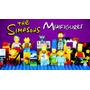 Simpsons Muñecos Coleccionables, Bart, Homero, Lisa, Magui