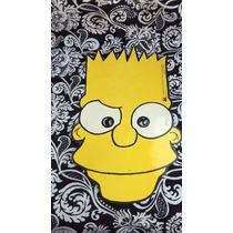 Mascara Simpson Bart Simpson Industria Argentina Nuevo