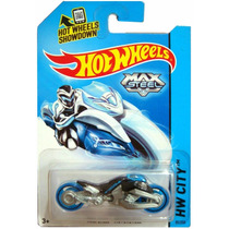 Max Steel Moto Negra 85/250 2014 Hot Wheels Original Nuevo