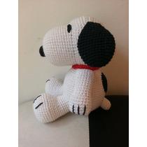 Snoopy Tejido Al Crochet Amigurumi