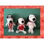 Snoopy Mini Crochet Amigurumi Tejido A Mano