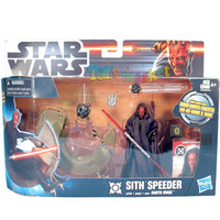 Darth Maul + Nave Sith Speeder Star Wars Original De Hasbro