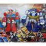 Set Transformers Rescue Bots 4 Figuras Articuladas 10cm