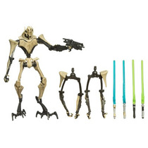Star Wars Clone Wars General Grievous Completo!!!