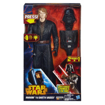 Star Wars - De Anakin A Darth Vader !! Original De Hasbro !!