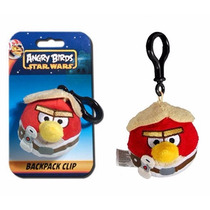 Luke Skywalker Llaveros Angry Birds Star Wars Peluches Wabro