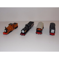 Lote 4 Trenes Locomotora Thomas & Friends Ertl Diecast