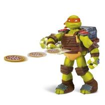 Tortugas Ninjas Flingers Con Movimiento - Originales
