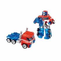 Transformers Rescue Bots Optimus Prime Hasbro - Mundo Manias